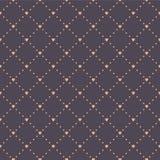 Naadloos geometrisch patroon met harten Royalty-vrije Stock Foto