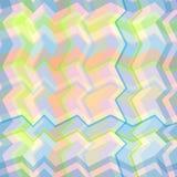 Naadloos geometrisch patroon met net stock illustratie