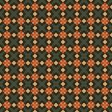 Naadloos geometrisch patroon in retro stijl Stock Afbeelding