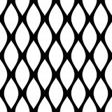 Naadloos Geometrisch Patroon Samenvatting van tralies voorzien textuur royalty-vrije illustratie