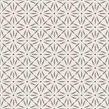 Naadloos geometrisch patroon in twee kleuren Royalty-vrije Stock Afbeelding