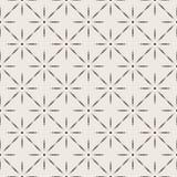 Naadloos geometrisch patroon in twee kleuren Stock Foto