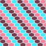 Naadloos geometrisch patroon van de achtergrond van het rassenbarrièrespatroon stock illustratie