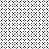 Naadloos geometrisch patroon van sterrennet, of cirkelsilhouetten Patroon voor stof en kleding Vector illustratie Royalty-vrije Stock Afbeeldingen