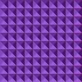 Naadloos geometrisch in reliëf gemaakt patroon Royalty-vrije Stock Afbeelding