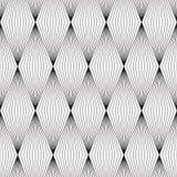 Naadloos Geometrisch Retro Patroonontwerp Royalty-vrije Stock Afbeeldingen