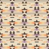Naadloos geometrisch ruitpatroon Royalty-vrije Stock Fotografie