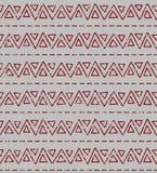 Naadloos geometrisch textuurpatroon Stock Foto