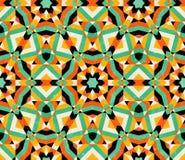 Naadloos geometrisch traditioneel ornament. stock illustratie