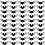 Naadloos geometrisch zigzagpatroon. Stock Afbeelding