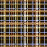 Naadloos geruit patroon in veelvoudige kleuren Royalty-vrije Stock Afbeelding