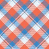 Naadloos geruit Schots wollen stof vectorpatroon royalty-vrije illustratie