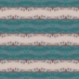 Naadloos gestreept abstract blauw en beige patroon Royalty-vrije Stock Fotografie