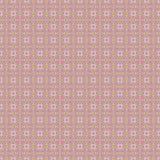 Naadloos gevoelig retro geel patroonroze Royalty-vrije Stock Afbeeldingen