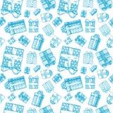 Naadloos giftpatroon vector illustratie