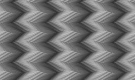 Naadloos golvend patroon Eindeloze grijze textuur Royalty-vrije Stock Afbeeldingen
