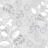 Naadloos grijs aardpatroon Royalty-vrije Stock Afbeeldingen