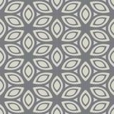 Naadloos grijs patroon Geschikt voor textiel, stof en verpakking Royalty-vrije Stock Fotografie
