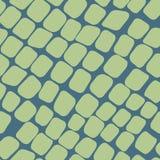Naadloos groen patroon met straatstenen vector illustratie