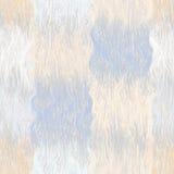 Naadloos grunge gestreept en golvend geruit patroon in pastelkleur Royalty-vrije Stock Foto's