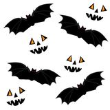 Naadloos Halloween Stock Afbeeldingen