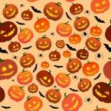 Naadloos Halloween Royalty-vrije Stock Fotografie