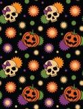 Naadloos Halloween Royalty-vrije Stock Foto