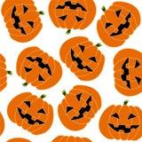 Naadloos Halloween Stock Afbeelding