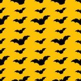 Naadloos Halloween-patroon met knuppels Stock Foto
