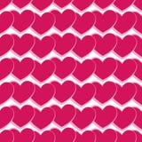 Naadloos hart Stock Afbeelding