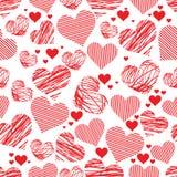 Naadloos hart royalty-vrije stock afbeelding