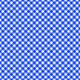 Naadloos het patroonblauw van de lijstdoek Royalty-vrije Stock Foto's