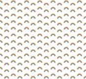 Naadloos het patroonontwerp van de besnoeiingsregenboog Regenboogvector Stock Afbeelding