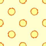 Naadloos hobbelig knooppatroon als achtergrond stock illustratie