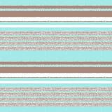 Naadloos horizontaal strepenpatroon stock illustratie