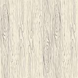 Naadloos houten korrelpatroon Houten textuur vectorachtergrond Stock Afbeelding