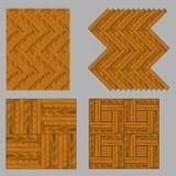 Naadloos houten parket Royalty-vrije Stock Foto