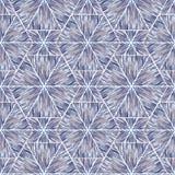 Naadloos ikatpatroon Abstracte achtergrond voor textielontwerp, behang, oppervlaktetexturen Stock Afbeeldingen