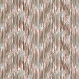 Naadloos ikatpatroon Abstracte achtergrond voor textielontwerp, behang, oppervlaktetexturen Royalty-vrije Stock Afbeeldingen