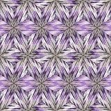 Naadloos ikatpatroon Abstracte achtergrond voor textielontwerp, behang, oppervlaktetexturen Royalty-vrije Stock Foto's