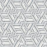 Naadloos ikatpatroon Abstracte achtergrond voor textielontwerp, behang, oppervlaktetexturen Royalty-vrije Stock Afbeelding