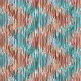 Naadloos ikatpatroon Abstracte achtergrond voor textielontwerp, behang, oppervlaktetexturen Royalty-vrije Stock Foto