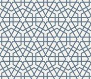Naadloos Islamitisch Patroon Royalty-vrije Stock Afbeeldingen