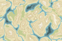 Naadloos kaartpatroon royalty-vrije illustratie