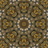 Naadloos Keltisch patroon 005 stock afbeelding