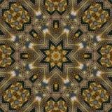 Naadloos Keltisch patroon 004 Stock Foto's