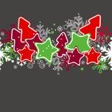 Naadloos Kerstmispatroon Stock Fotografie