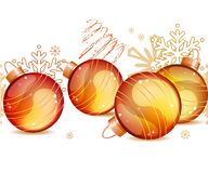 Naadloos Kerstmispatroon Royalty-vrije Stock Fotografie