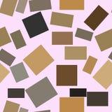 Naadloos kleuren abstract vierkant, generatieve de kunstachtergrond van het rechthoek geometrische patroon Slordig, herhaal, text Vector Illustratie