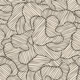 Naadloos kleuren hand-drawn patroon Abstracte textuur Royalty-vrije Stock Foto